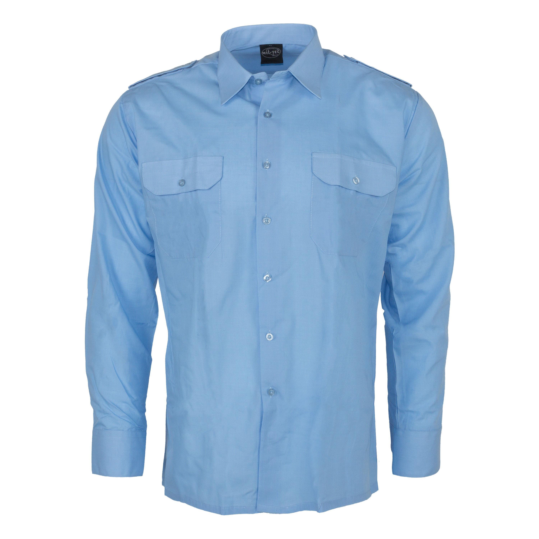 Service Shirt Long Sleeve blue