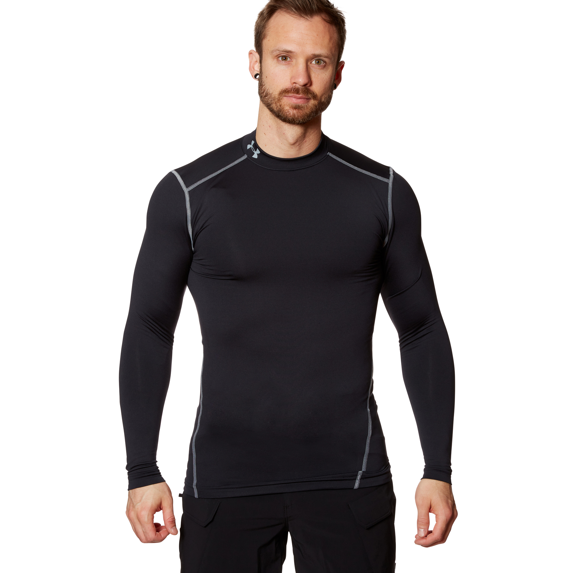 Under Armour ColdGear Compression Mock Shirt black