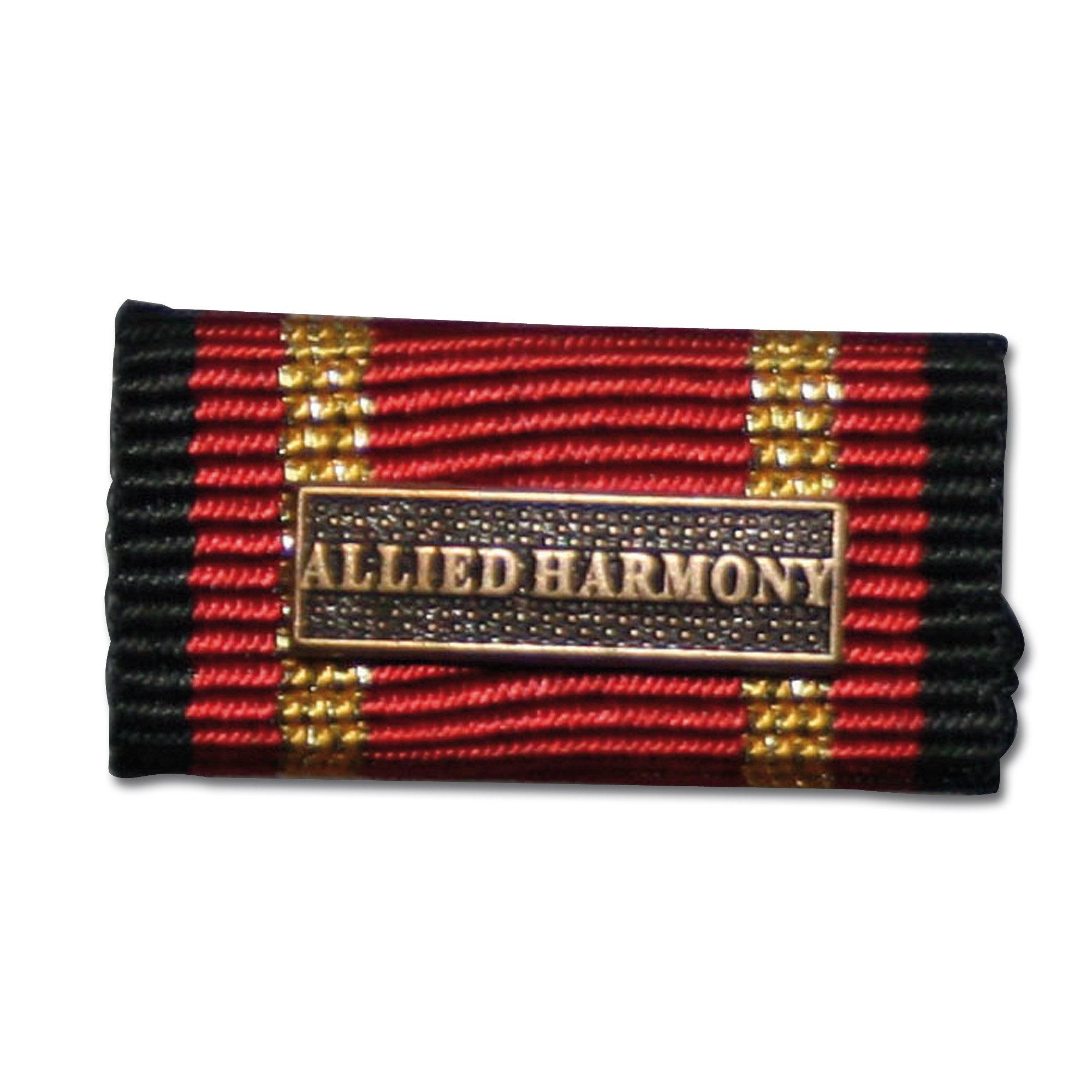 Service Ribbon Deployment Operation Allied Harmony