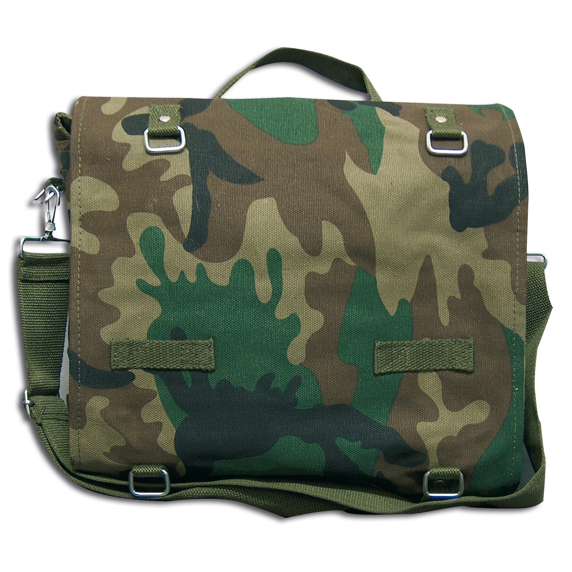 German Military Bag woodland