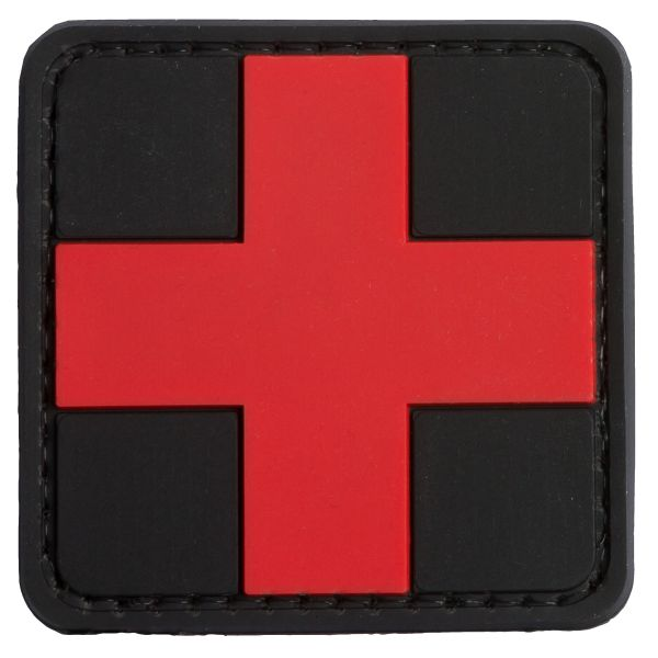TAP 3D Patch Red Cross Medic black/red