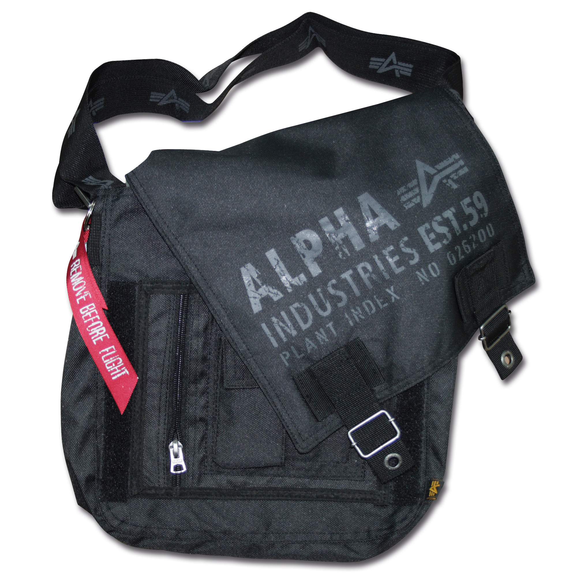 Alpha Industries Cargo Oxford Utility Bag black