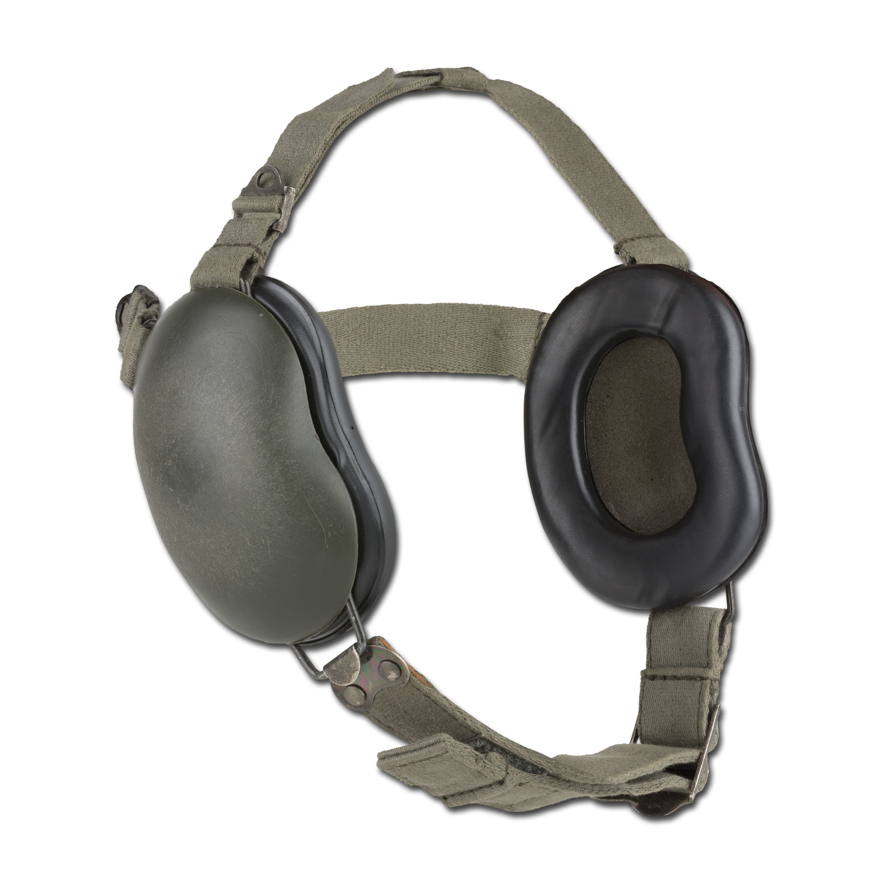 French Army Hearing Protector olive green used