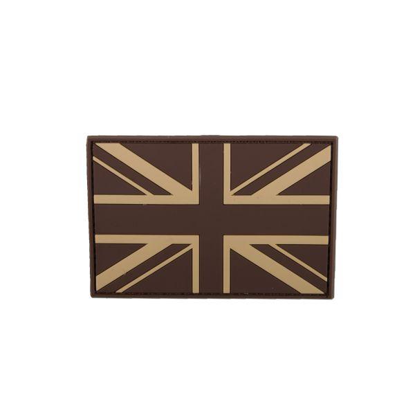 3D-Patch Great Britain Flag desert