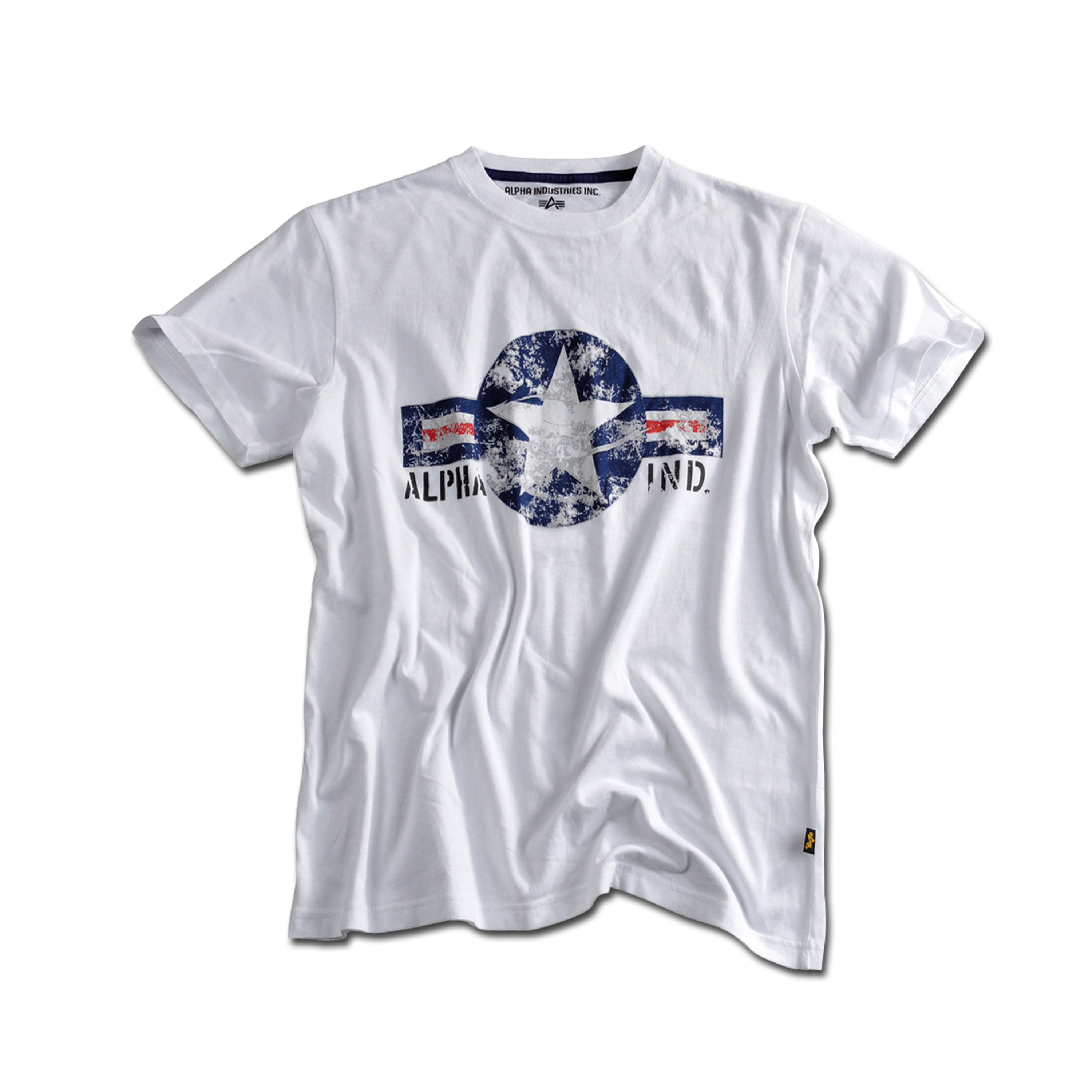 T-Shirt Alpha USAF white