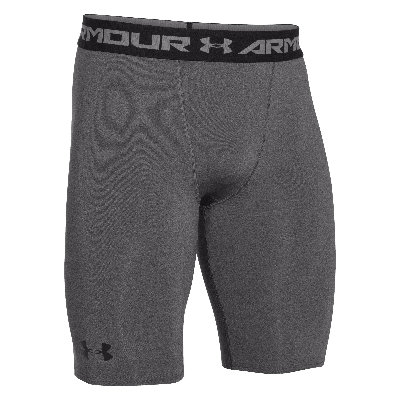 Under Armour Compression Shorts HeatGear Long heather gray
