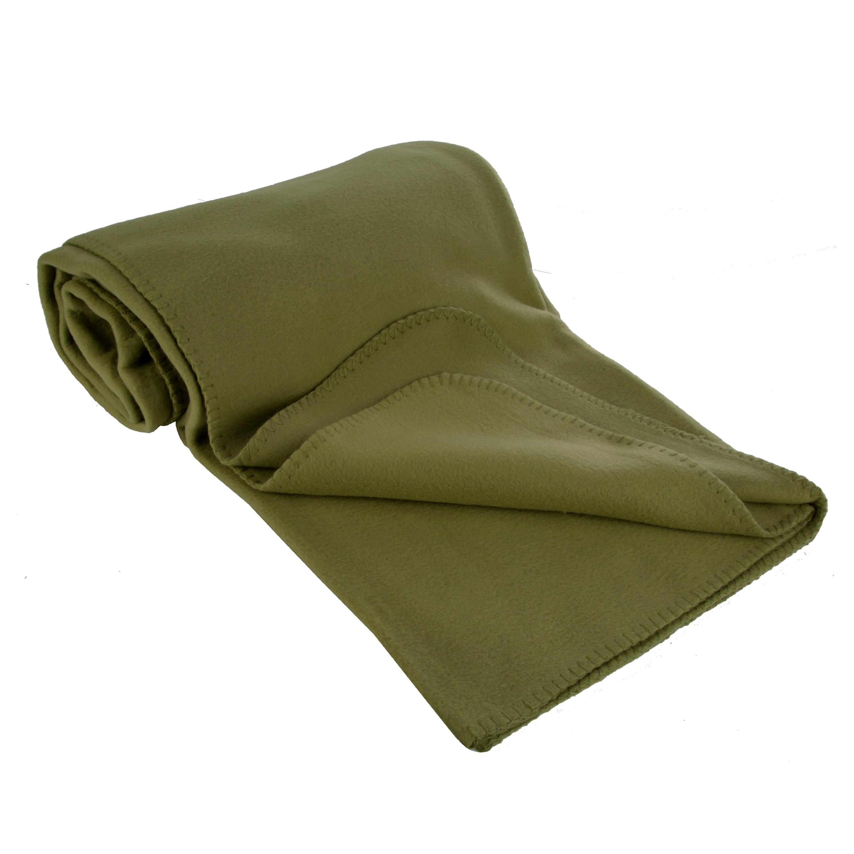 Poly-Fleece Blanket olive