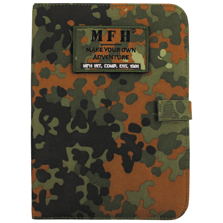 MFH Ring Planner/ Notebook A5 flecktarn