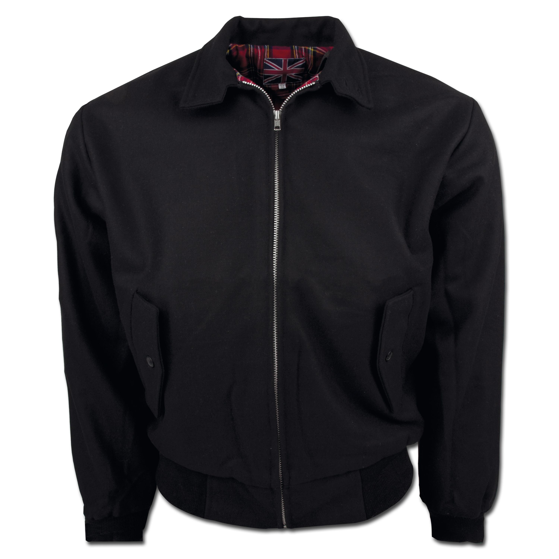 Harrington Jacket Wool black