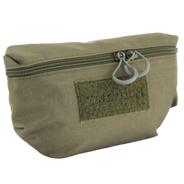 Zentauron Front Pouch Plate Carrier stone gray/olive