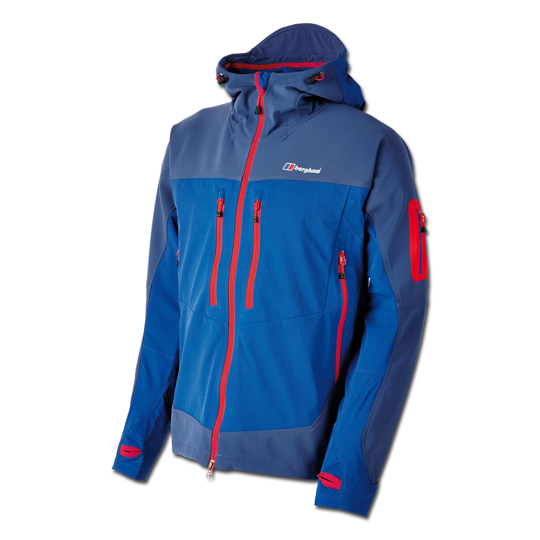 Jacket Berghaus Jorasses Softshell blue