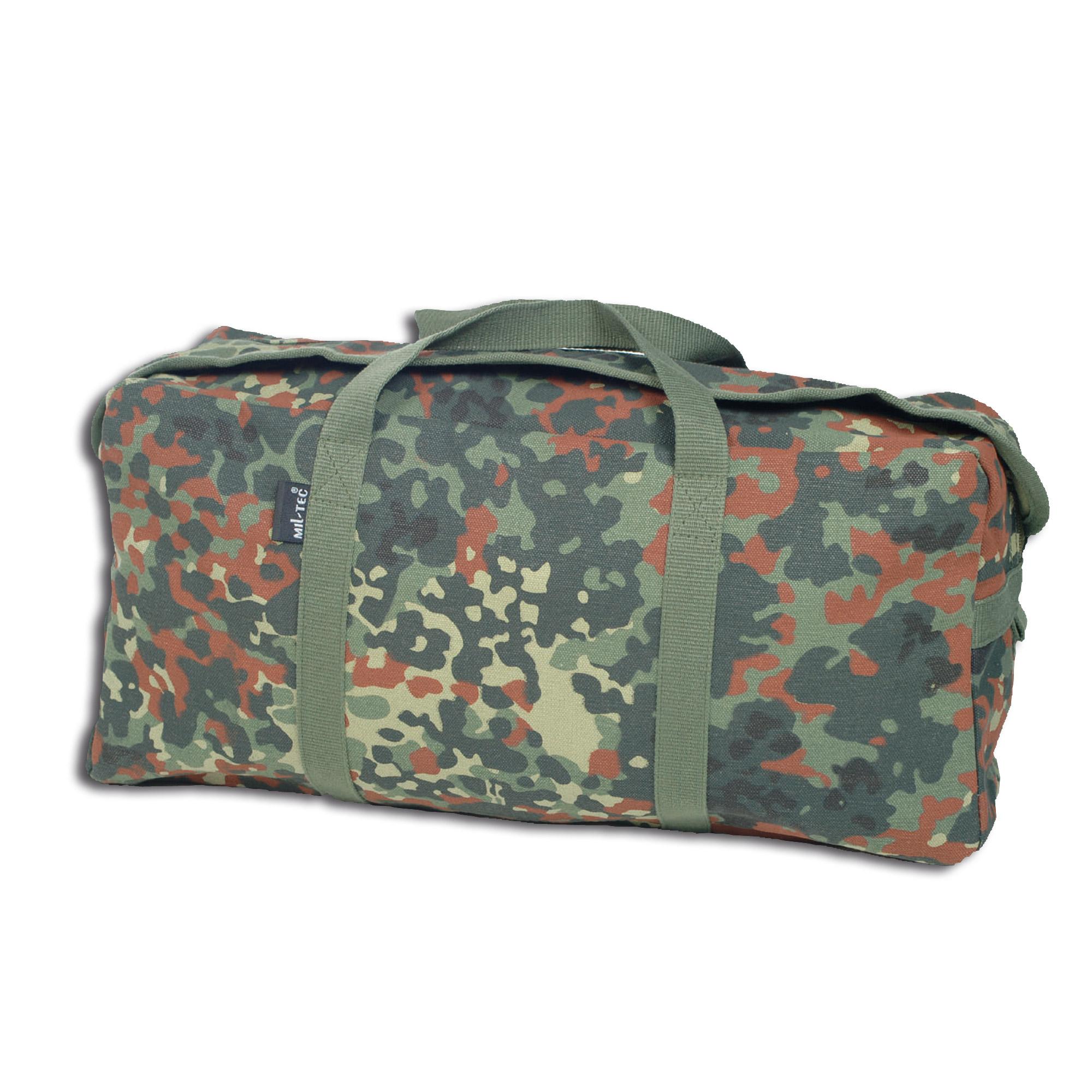 Canvas Carrying Bag Medium flecktarn