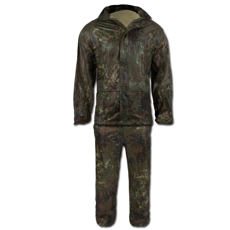 Rain Suit Nylon flecktarn