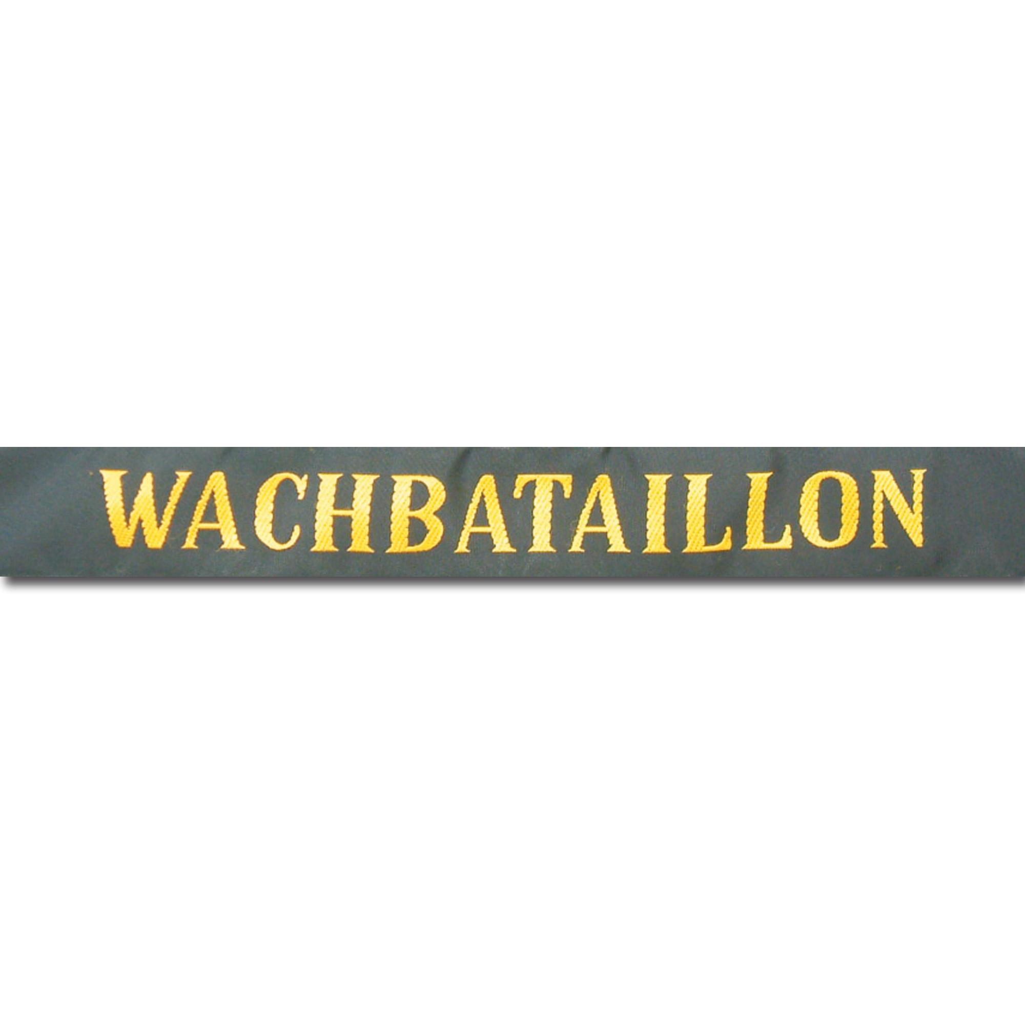 Hat Band German Navy Wachbataillon
