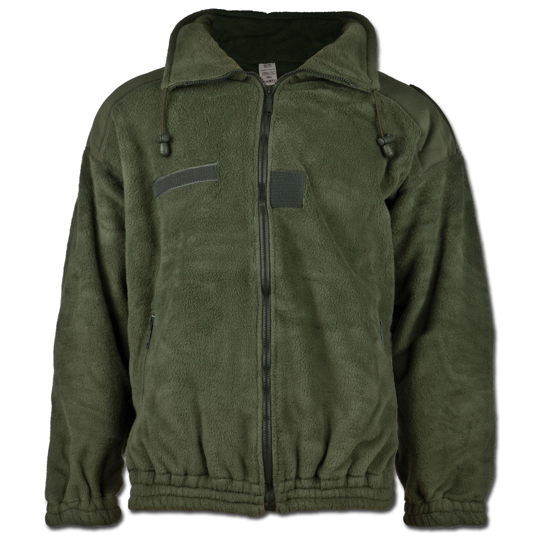 French Polar Fleece Jacket olive