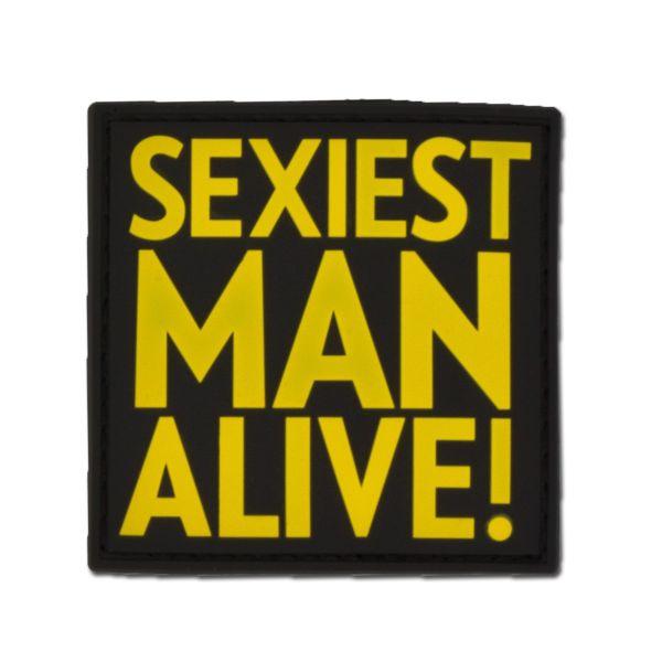 3D-Patch SEXIEST MAN ALIVE full color
