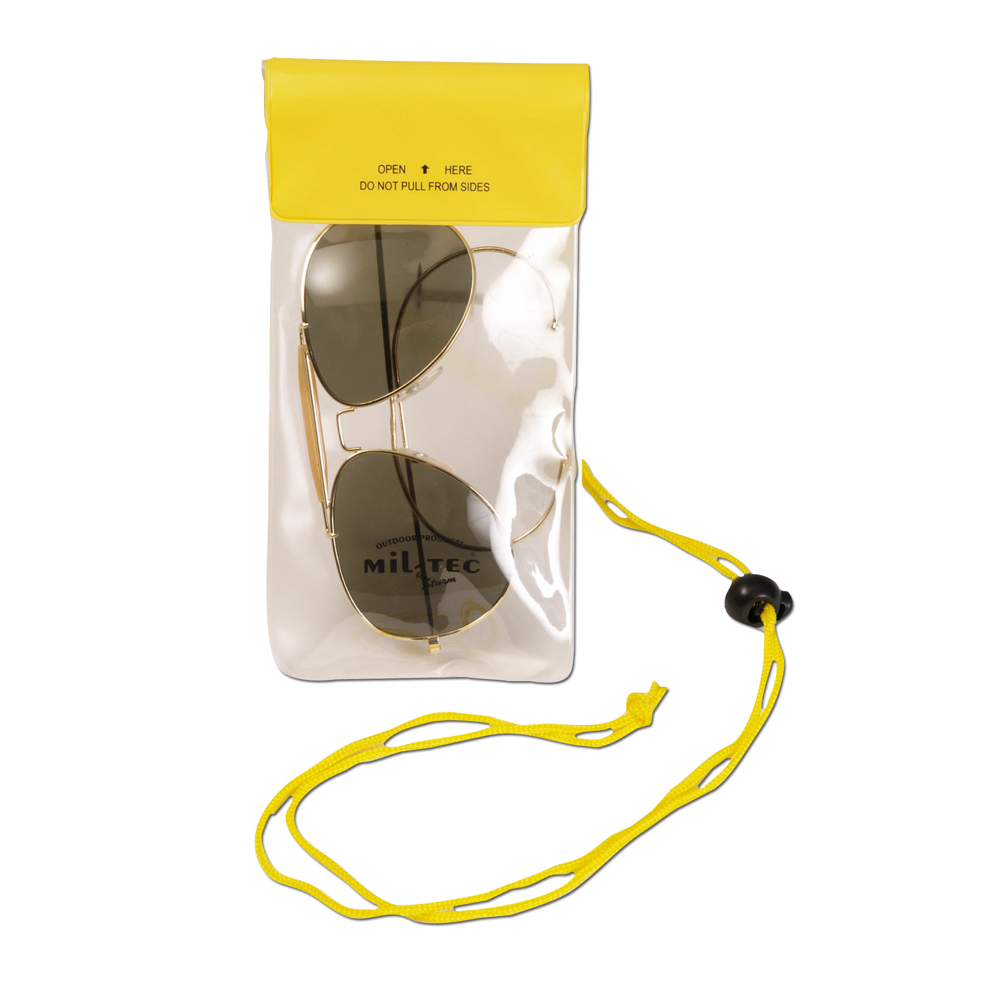 Neck Pouch small yellow