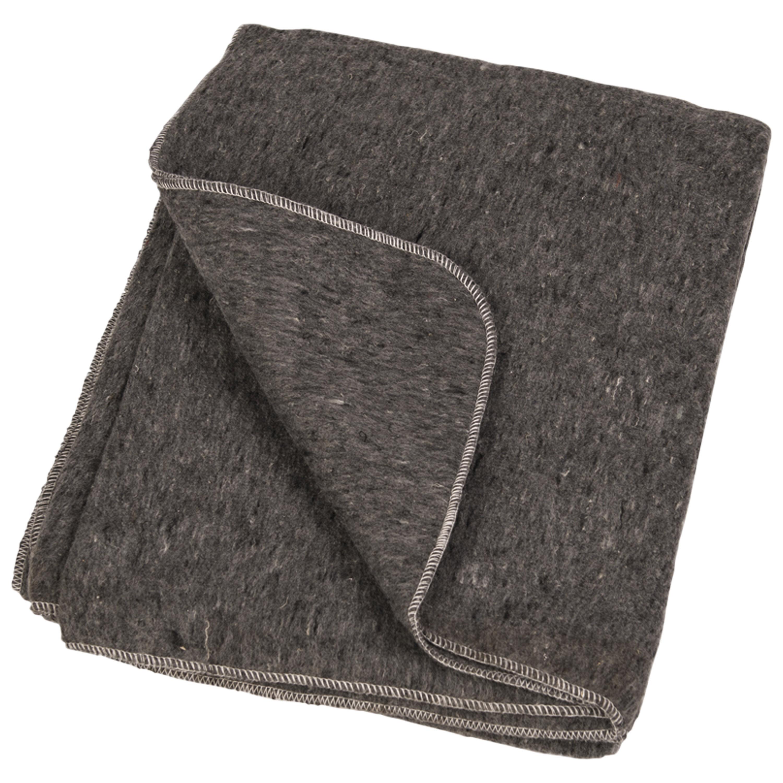Wool Blanket Like New gray