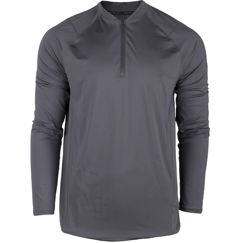 Under Armour Long Arm Shirt Raid 2.0 1/4 Zip gray