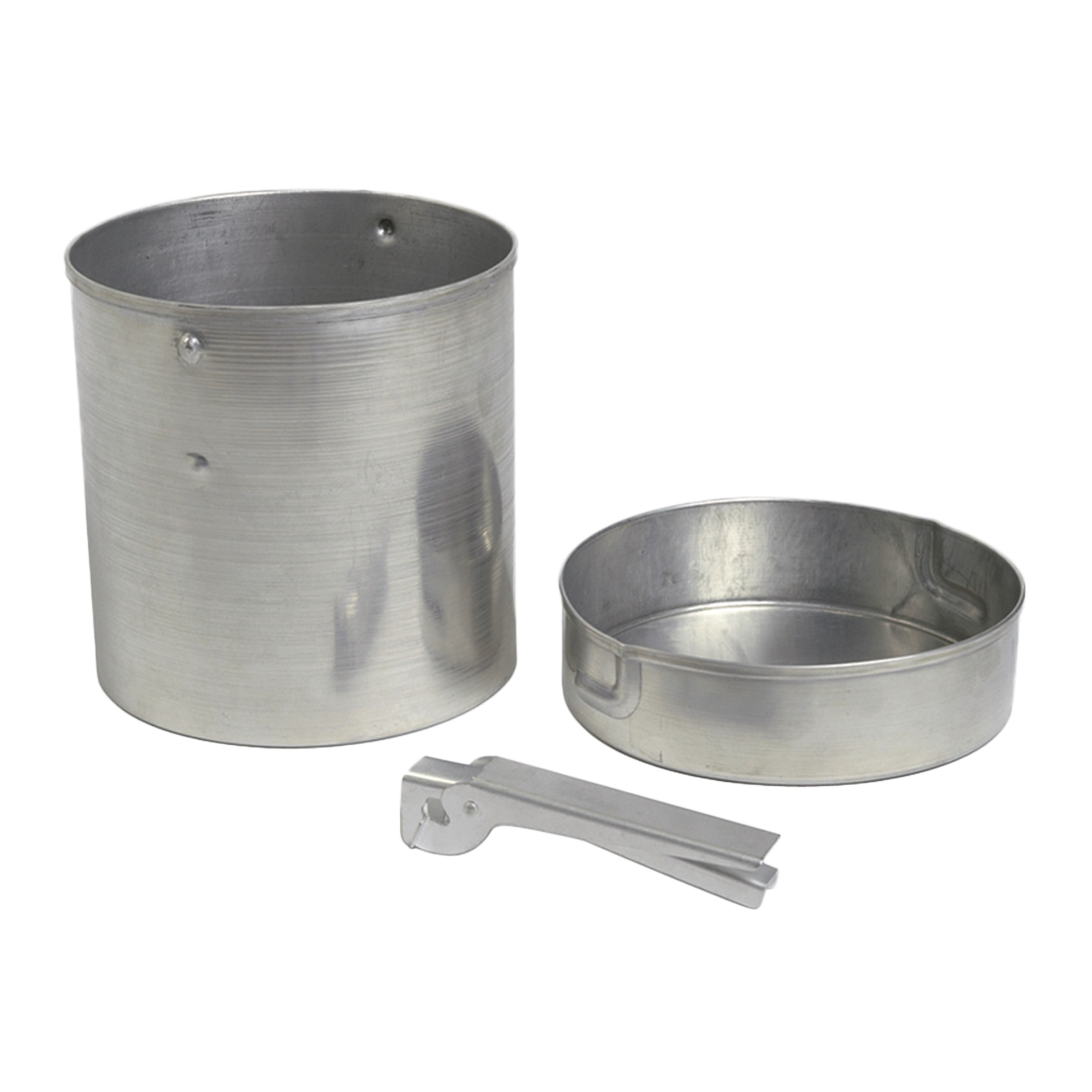 Pot with Handle for Liquid Fuel Stoves