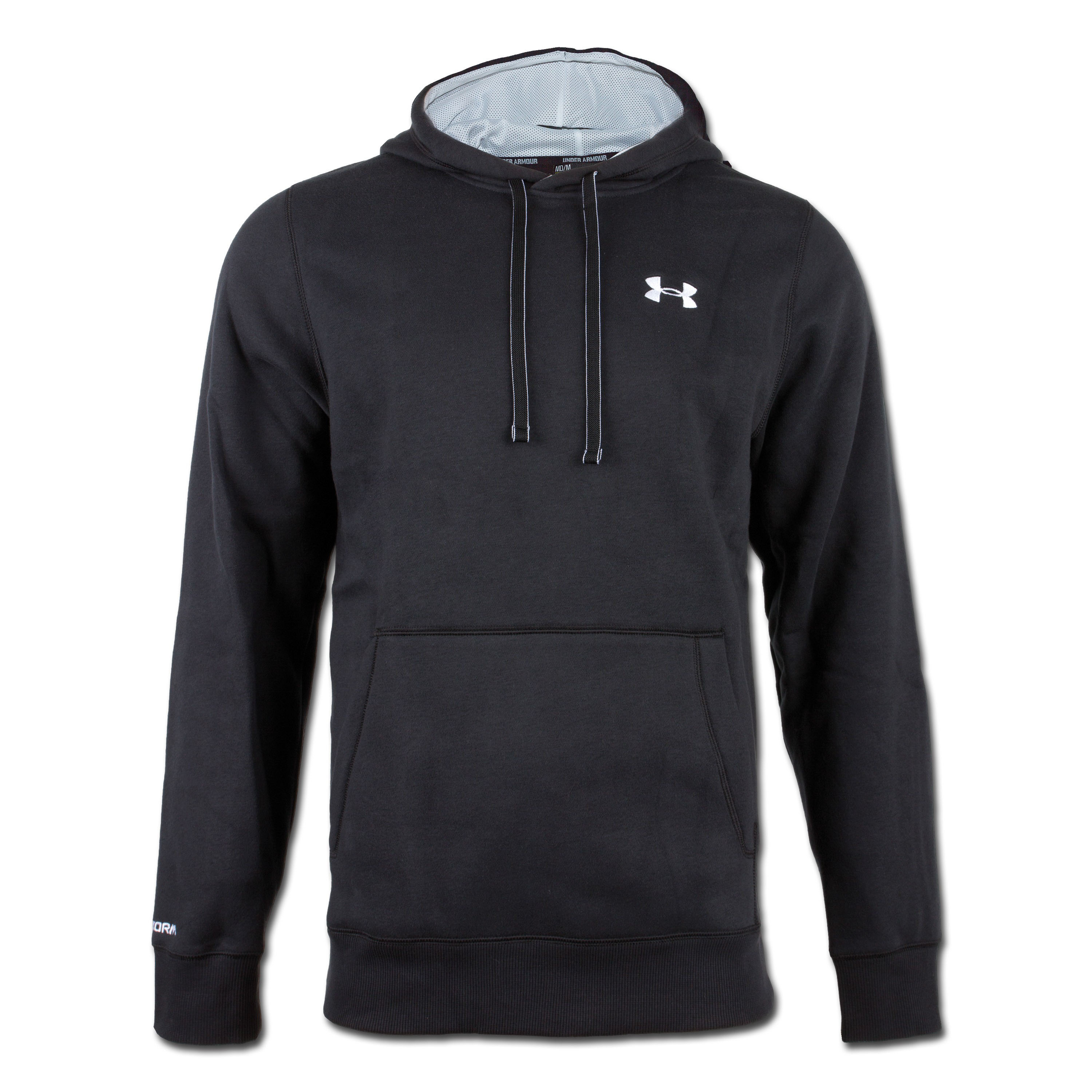 Under Armour Charged Cotton Rival Hoody black