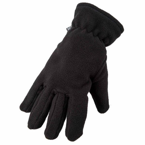 Thermal Fleece Gloves black