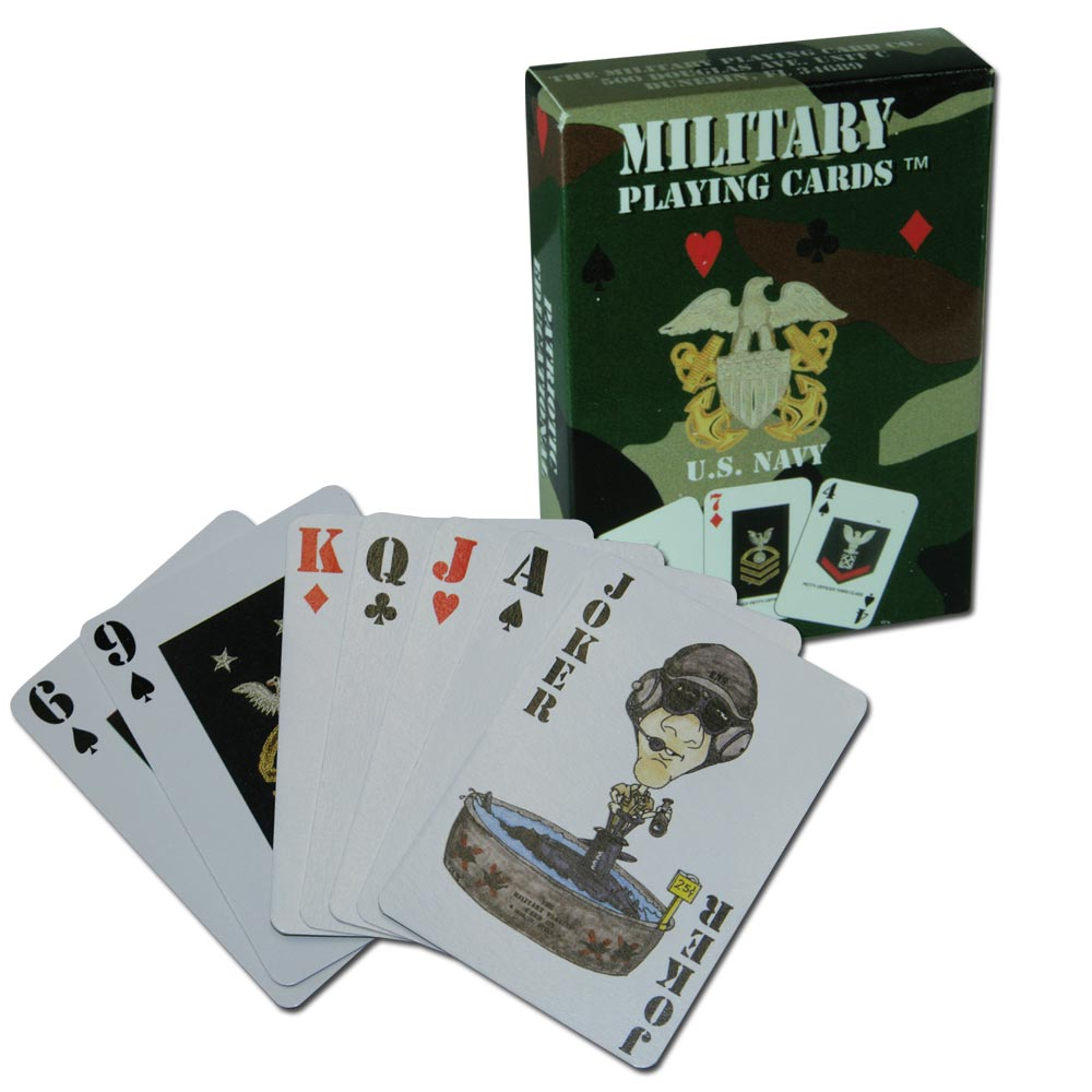 Playing Cards U.S. Navy