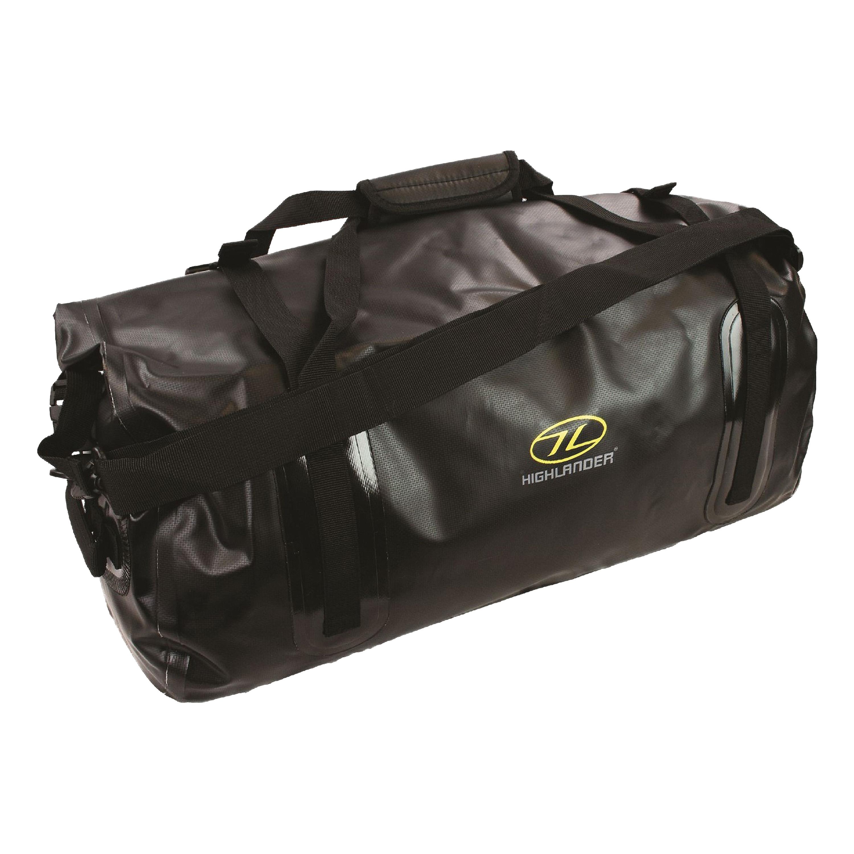 Highlander PVC Travel Bag Mallaig 35L black