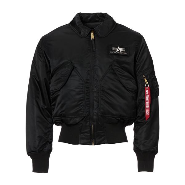 Alpha Flight Jacket CWU black