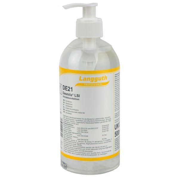 Langguth Hand Disinfectant Desmila LSI DE21 500 ml