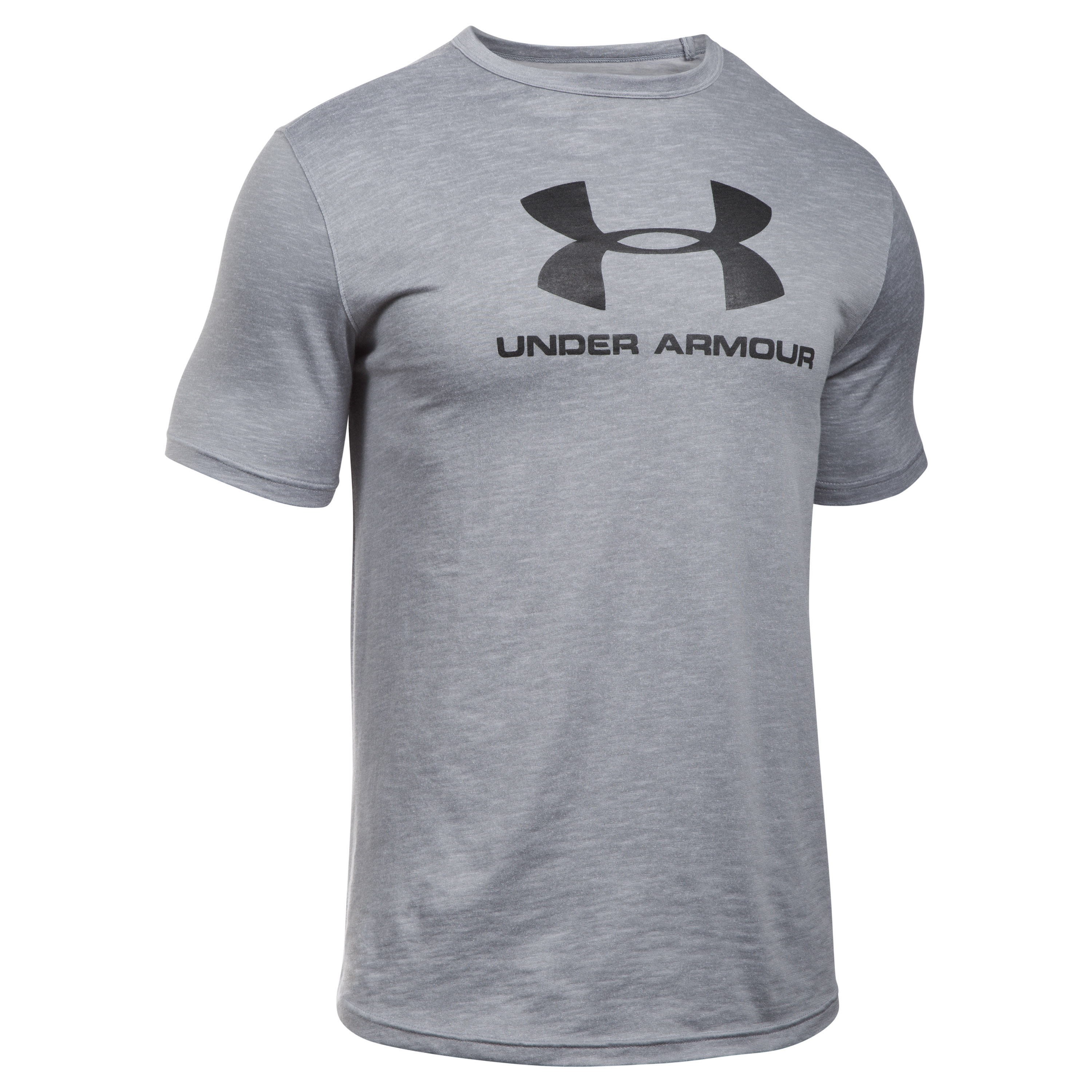Under Armour Fitness T-Shirt Sport Style Branded Tee gray