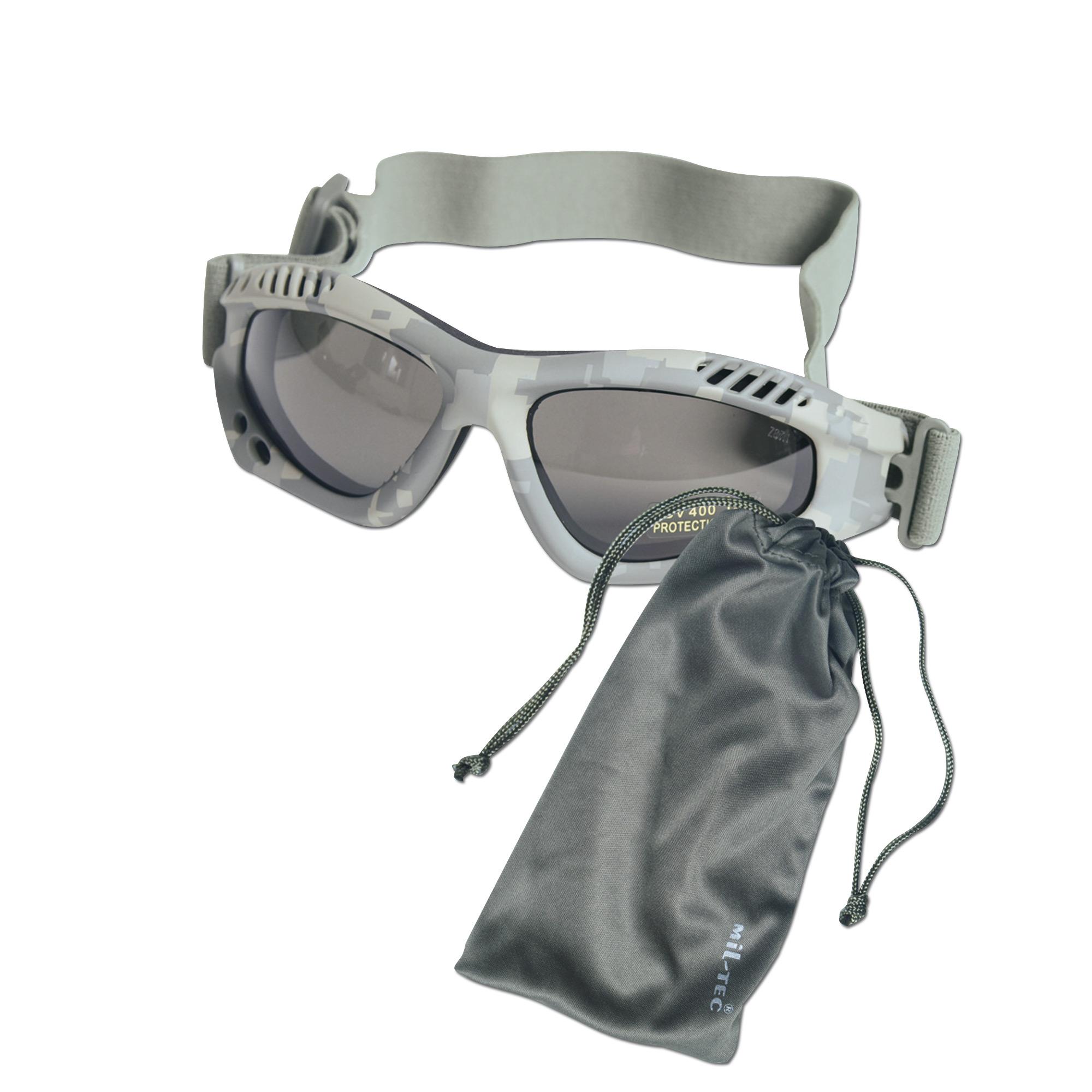 Goggles Commando Air-Pro AT-digital/smoke