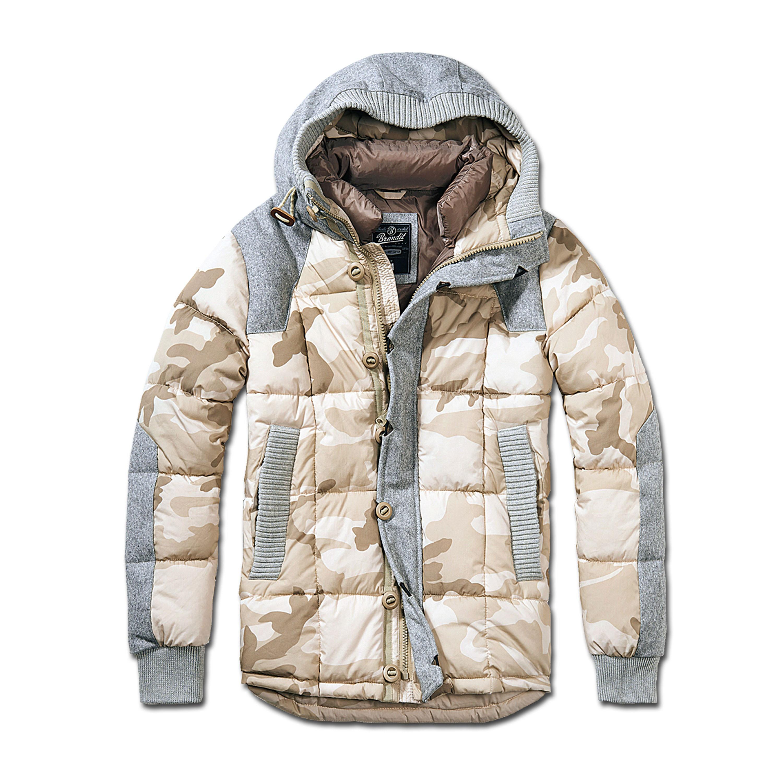 Jacket Brandit Garret desert / gray