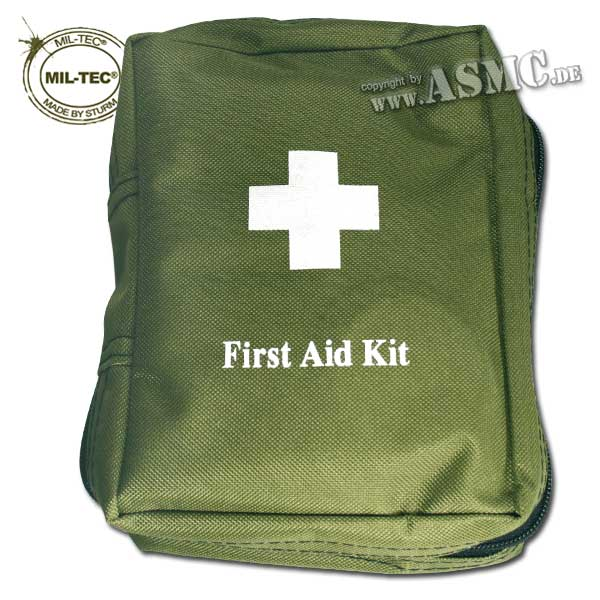 First Aid Kit Mil-Tec Large olive green