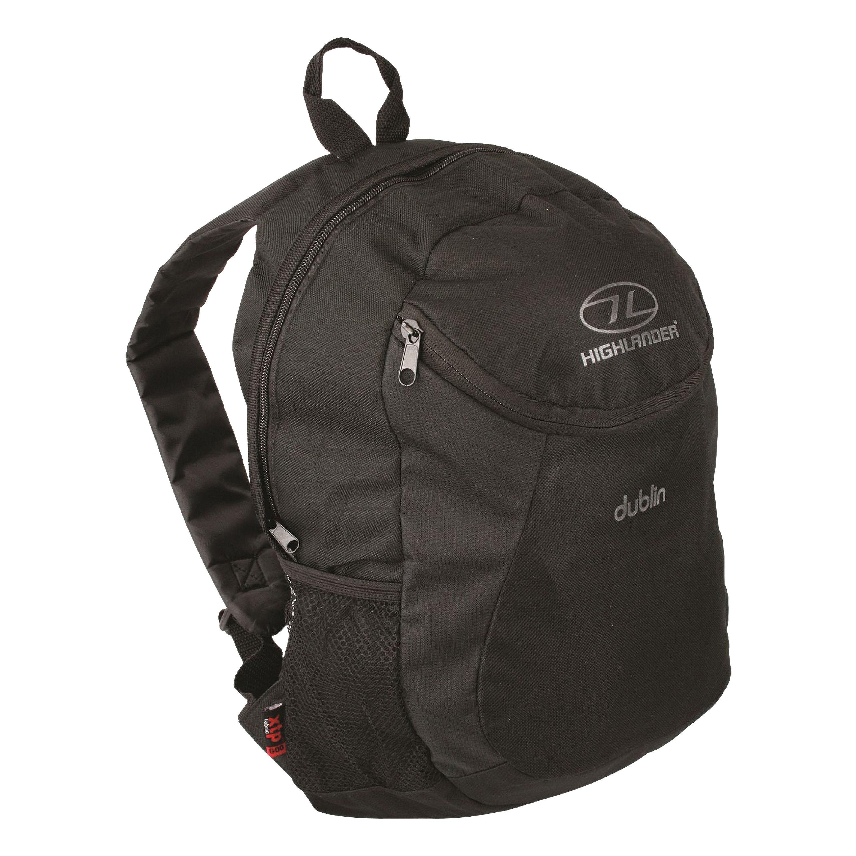 Highlander Backpack Dublin 15L black