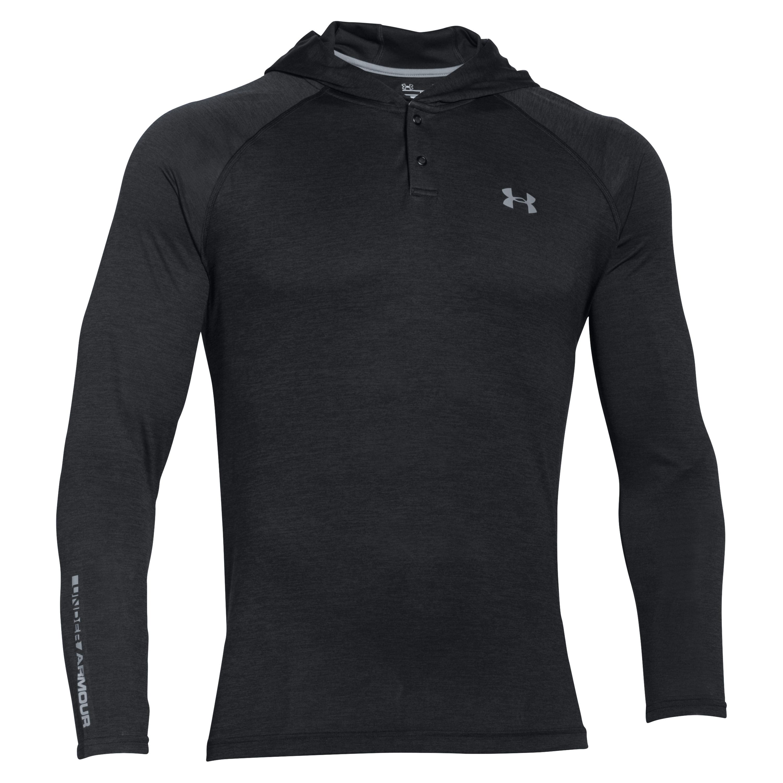 Under Armour Shirt Long Arm Tech Popover black
