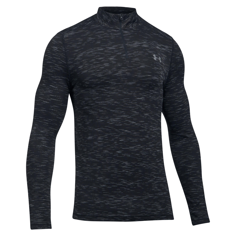Under Armour Long Arm Shirt Threadborne 1/4 Zip black/gray