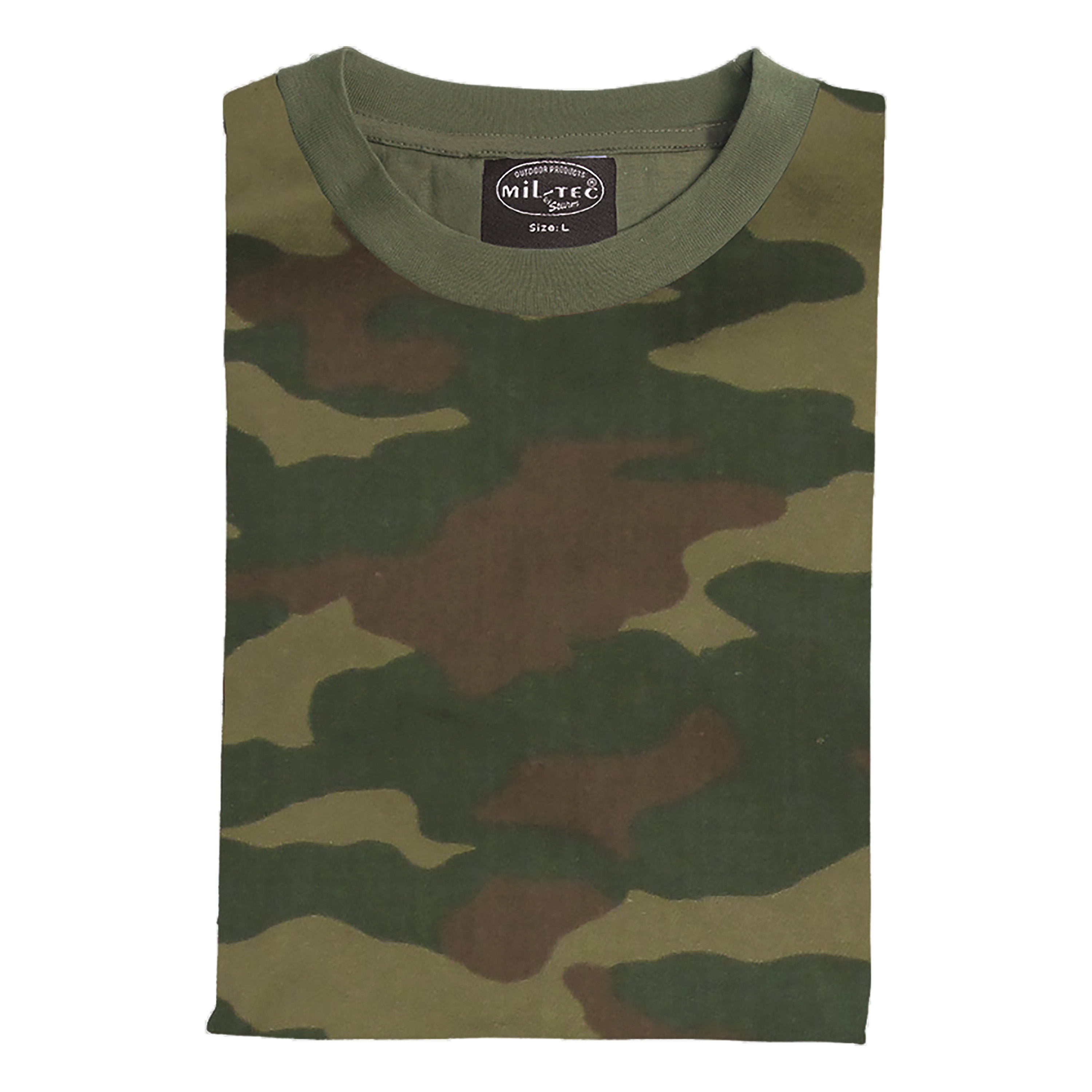 T-Shirt Russian woodland camouflage