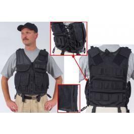 Tactical-Weste Import schwarz