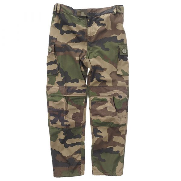 Used French Combat Pants T4 R/S camo