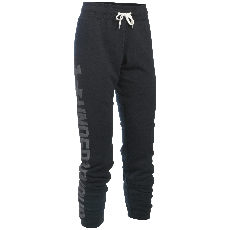 Under Armour Women Pants Favorite Fleece black