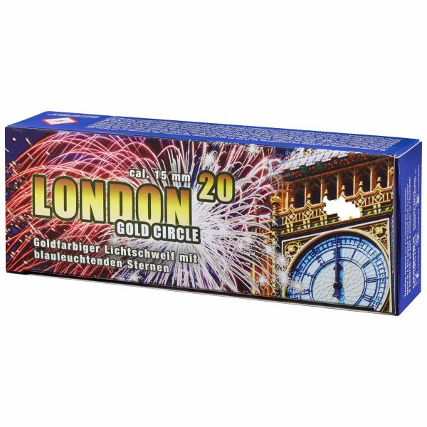 Fireworks London Gold Circle