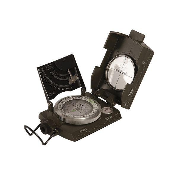 Italian Compass with Metal Housing