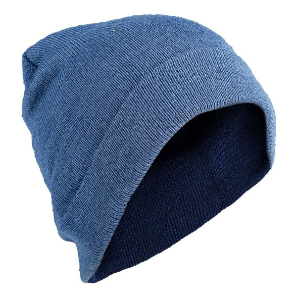 Knitted Wool Cap royal blue