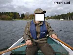 Jagdaufseher Streife - Ruderboot