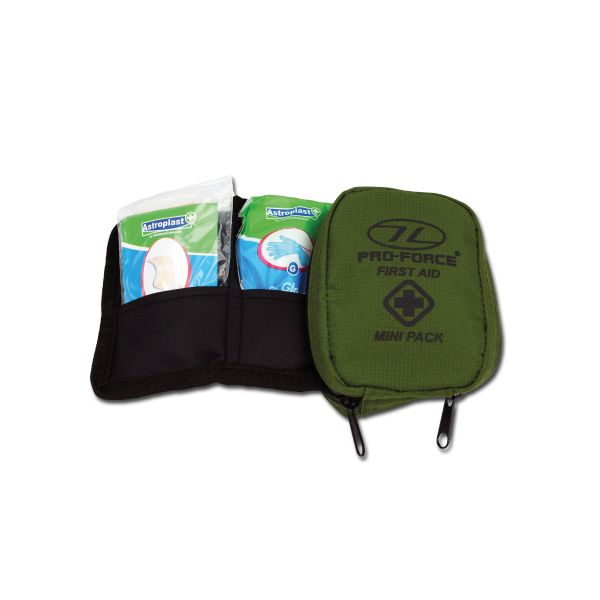 Highlander First Aid Kit Mini olive
