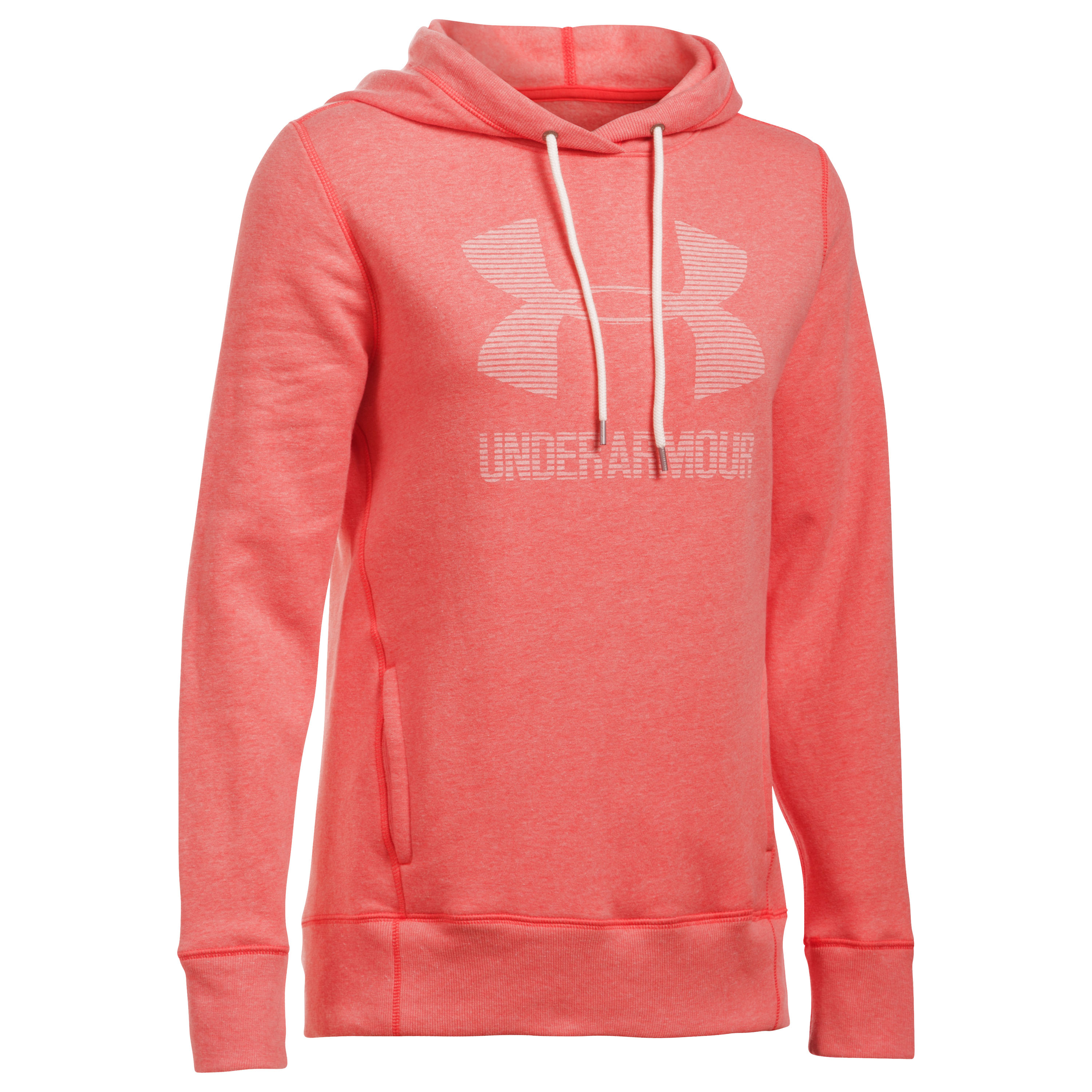 Under Armour Fitness Woman's Hoodie pink