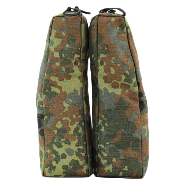 Zentauron Sprinter Pack Backpack Side Pouches flecktarn