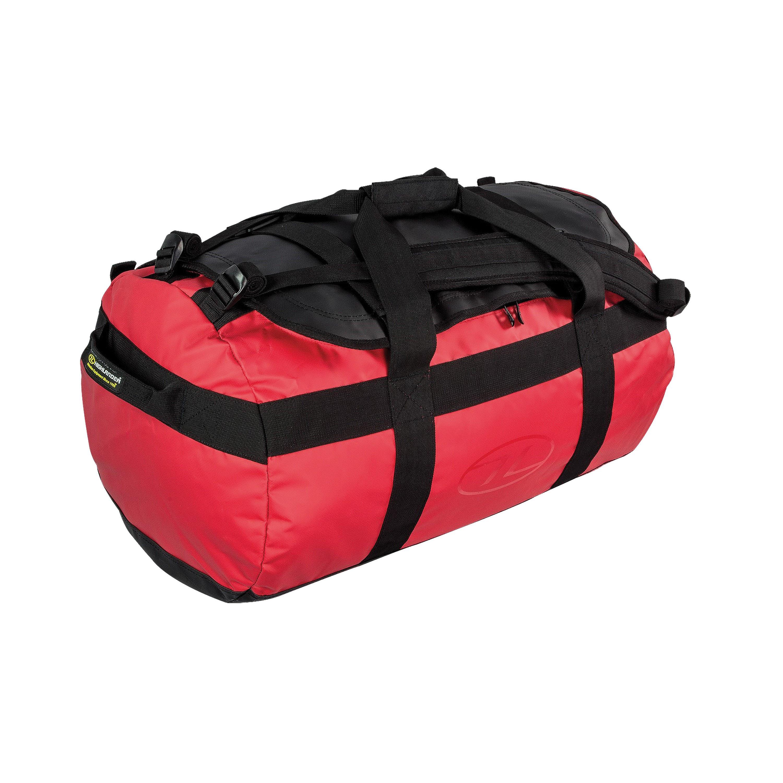 Highlander Spash Resistant Duffle Bag 65L red