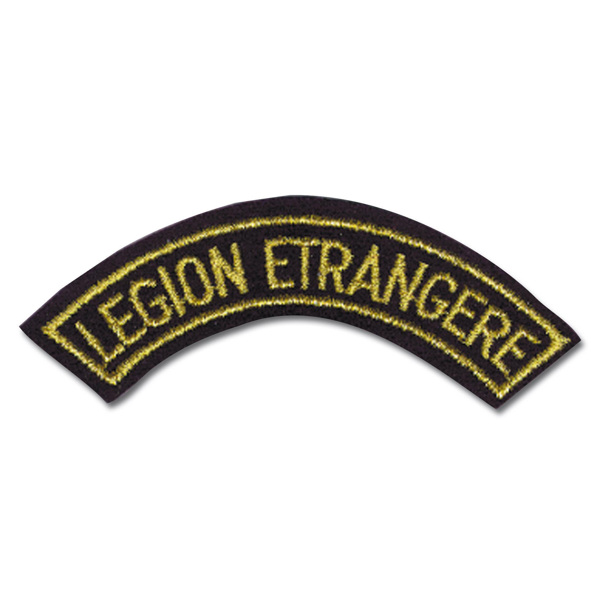 French Tab Textile Legion Etrangere